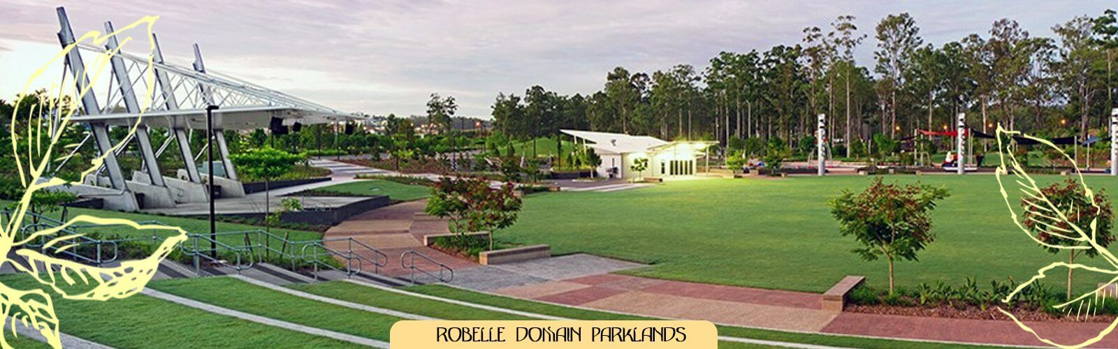 The Robelle Domain central parkland is Greater Springfield's world-class recreational space with a huge variety of scenic and interactive spaces including the Springfield Lagoon.